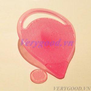 Miếng rửa mặt silicon giúp làm sạch da mặt sâu