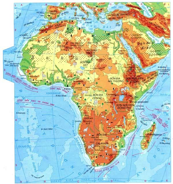 Đặc điểm tự nhiên của Châu Phi