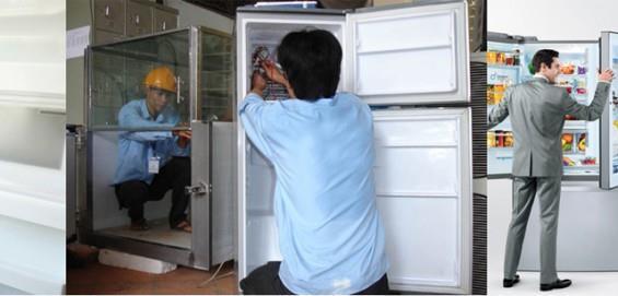 Đội ngũ nhân viên sửa chữa tủ lạnh giàu kinh nghiệm
