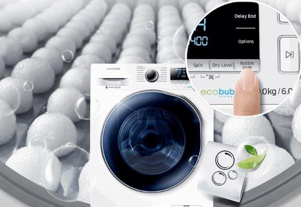 Máy giặt samsung có thiết kế thông minh