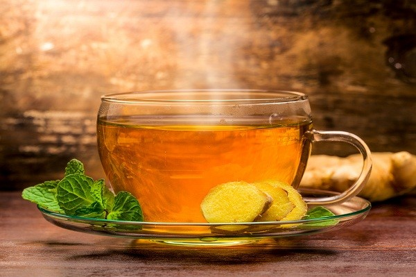 Trị bệnh đau đầu kinh niên bằng trà gừng