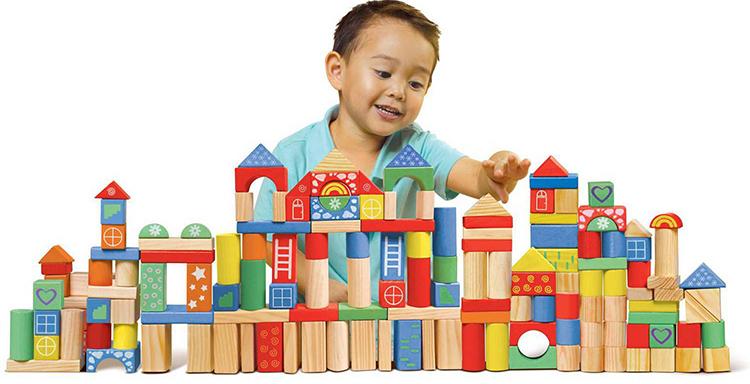 Đồ chơi giáo dục giúp trẻ phát triển toàn diện về cả tư duy và thể chất