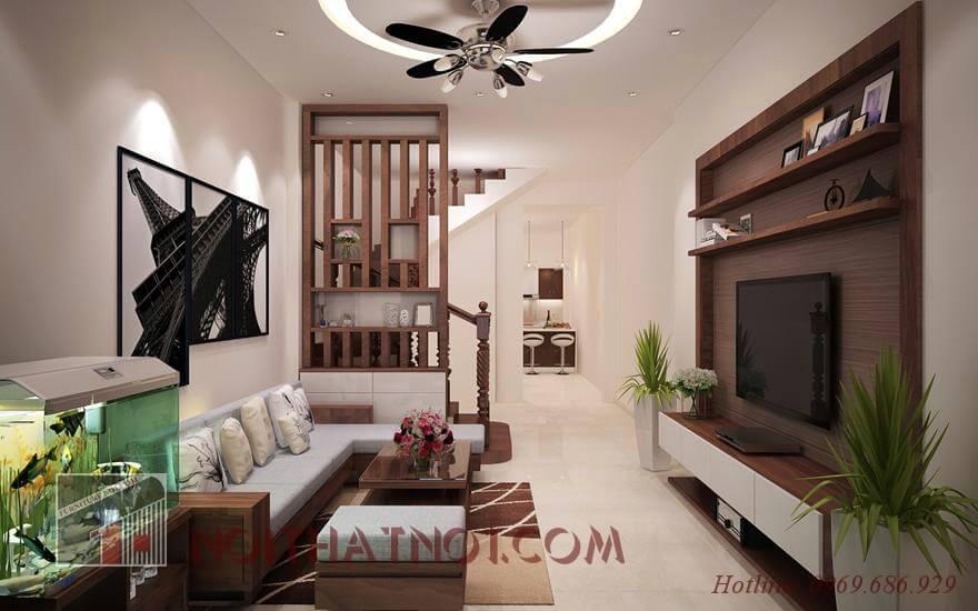 Mẫu bàn ghế gỗ phòng khách nhỏ đẹp cao cấp