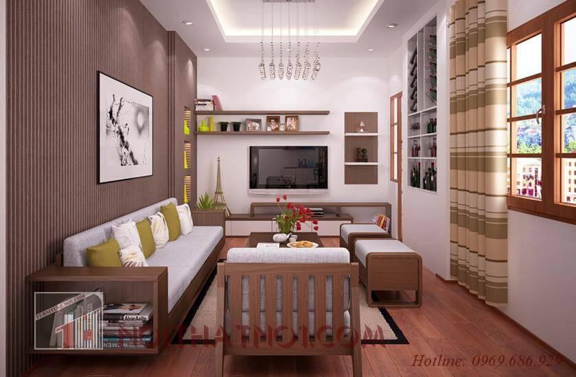 Bàn ghế sofa gỗ tự nhiên đẹp nhất