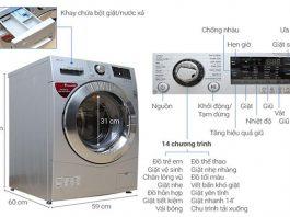 Mách chị em cách vắt khô quần áo bằng máy giặt LG