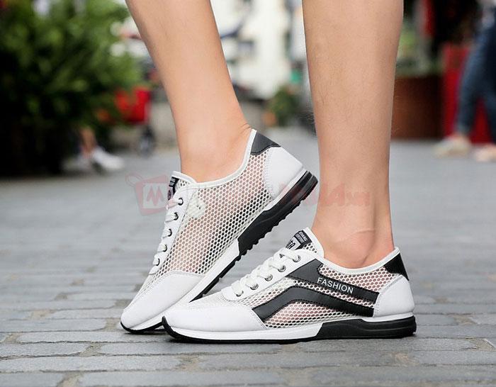 Giày thể thao được thiết kế từ nhiều loại chất lượng khác nhau
