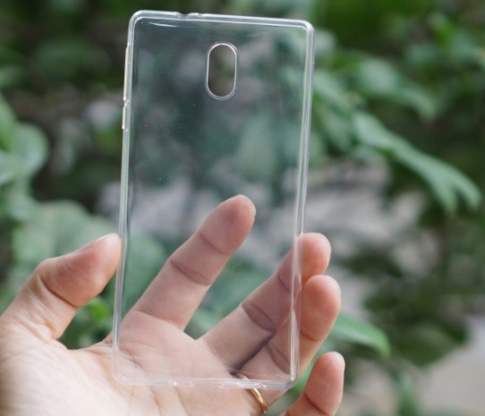 Ốp nhựa dẻo trong suốt Nokia 3 siêu bền