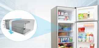 Đánh giá chi tiết về tủ lạnh Sharp 196 lít sj x201e ds