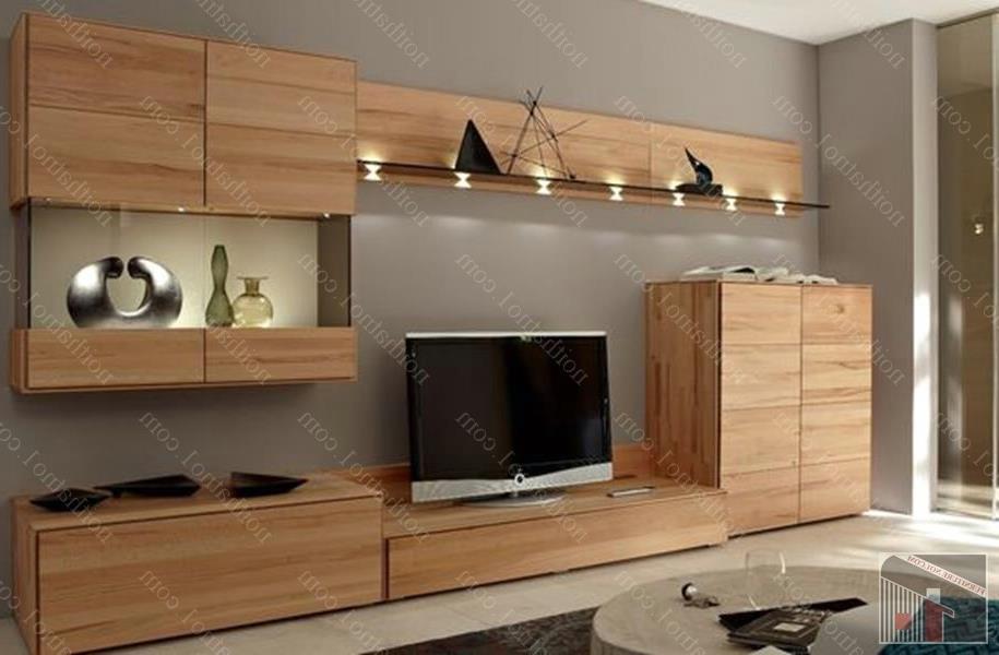 Kệ tivi gỗ sồi đẹp đơn giản