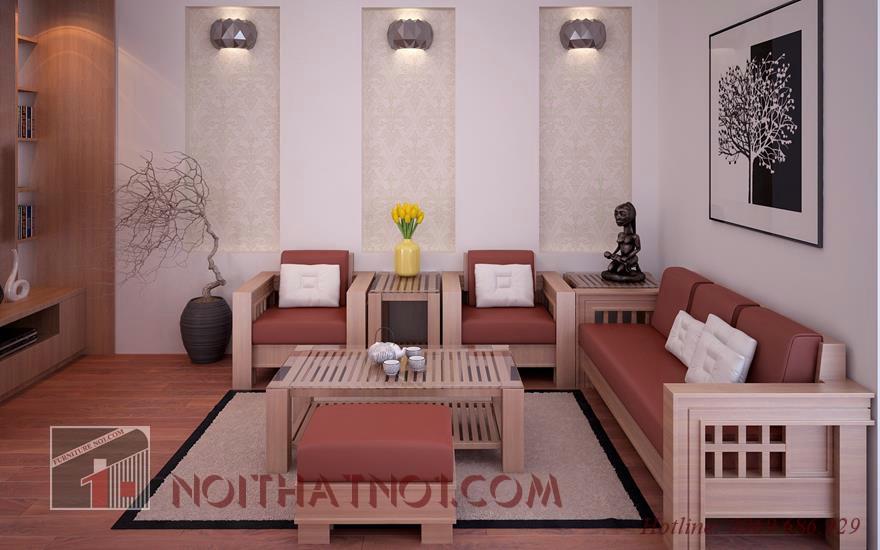 bàn ghế sofa hiện đại ấn tượng