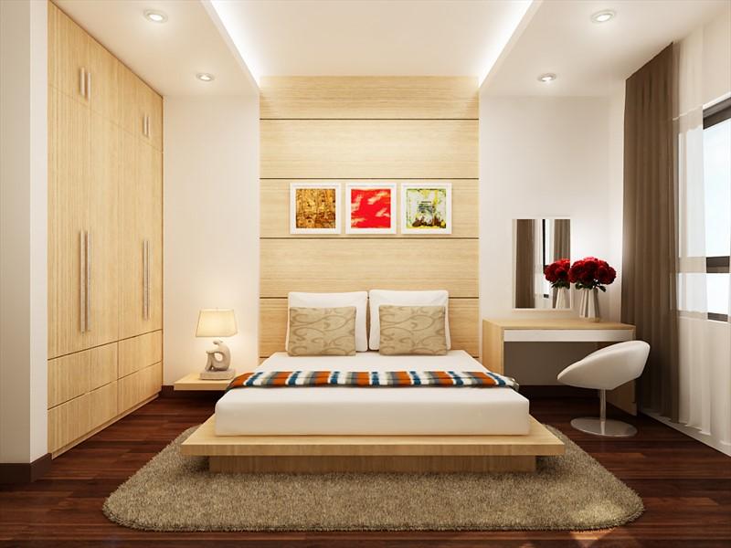 Phòng ngủ ngăn nắp
