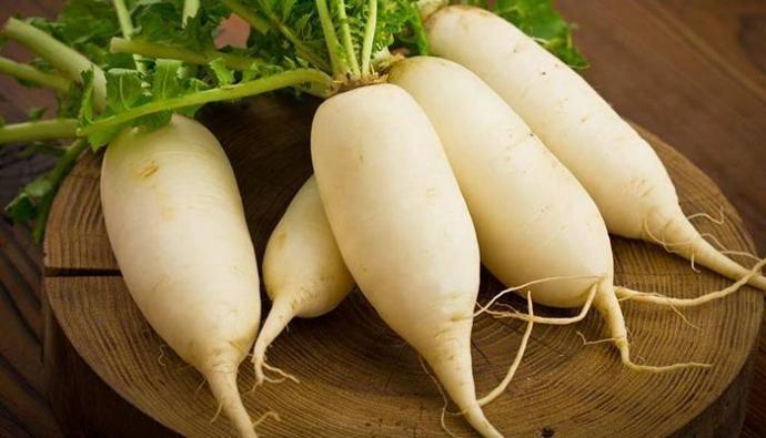 Củ cải là món ăn bổ dưỡng trong các bữa ăn