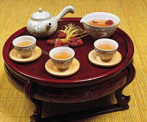 Sâm tươi dùng để uống trà