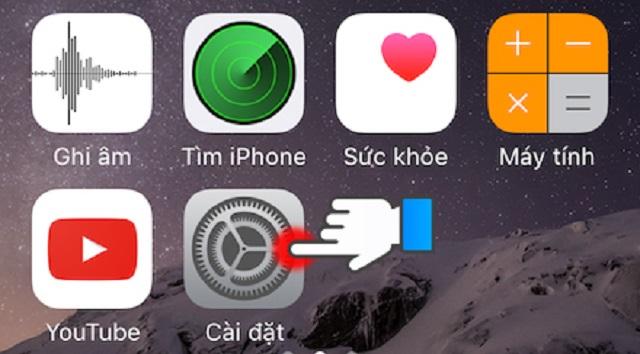 Cài đặt chỉnh sửa hiện tượng màn hình iPhone bị ám vàng